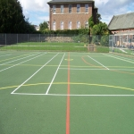 Sports Court Construction in Swansea 1