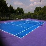 Sports Surface Painting in Aston on Carrant 1