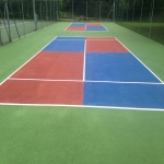 Sports Court Line Marking in West Dunbartonshire 1