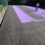 Sports Surface Painting in Aston on Carrant 7