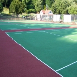 Sports Court Line Marking in Abermagwr 5