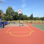 Sports Court Line Marking in Appley Bridge 9