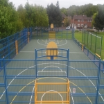 Sports Surface Painting in Aberfeldy 1
