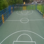 Sports Court Line Marking in Ards 6