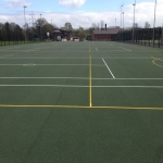 Sports Surface Painting in Aston on Carrant 8