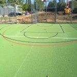 Sports Court Line Marking in West Dunbartonshire 10