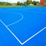 Sports Court Line Marking in Torrin/Na Torrin 11