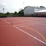 Sports Court Line Marking in Abermagwr 8
