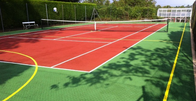Sports Court Contractors in Annwell Place