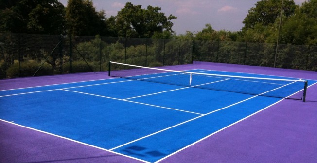 MUGA Surface Painting in Aston on Carrant