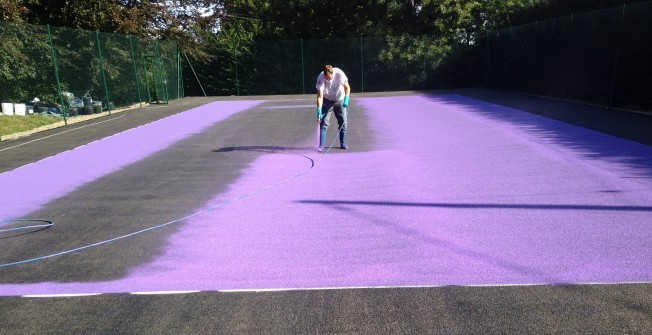 Sports Colour Coating in Almondvale