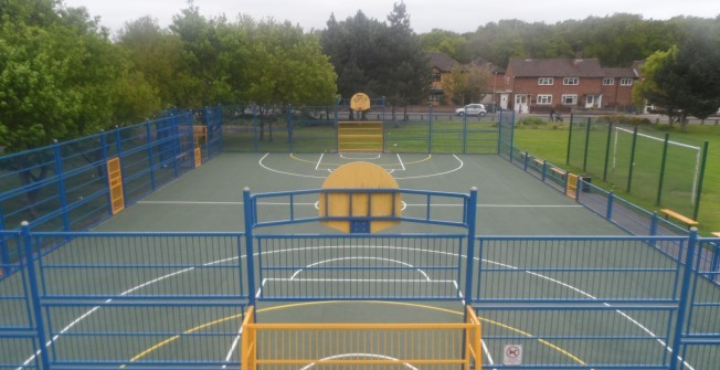 Sport Surfacing Specialists in Ancton