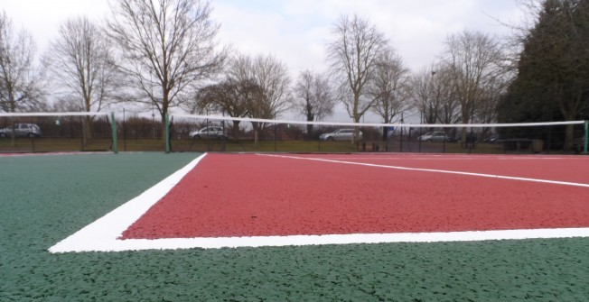 Anti Slip Sports Lines in Torrin/Na Torrin