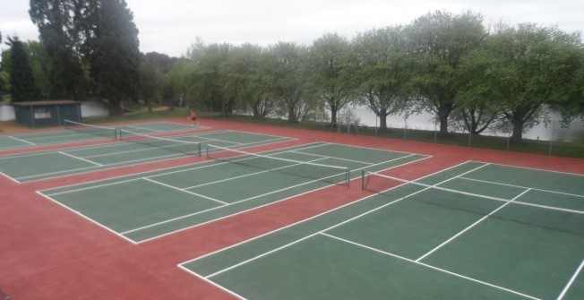 MUGA Court Contractors in Aberlerry