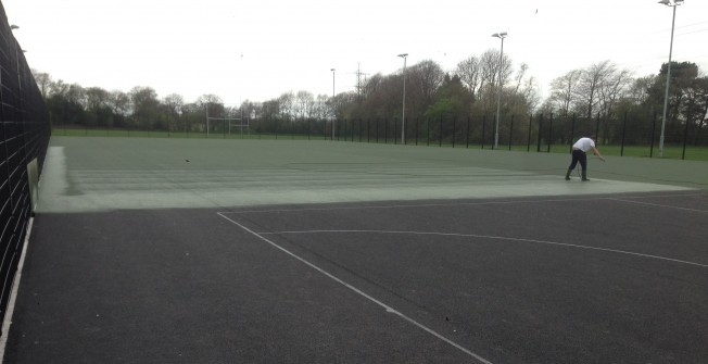 MUGA Court Installation in Alwoodley Park