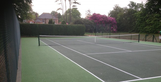 Macadam MUGA Courts in Apperknowle