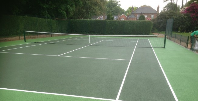 Sports Court Costs in Abercych