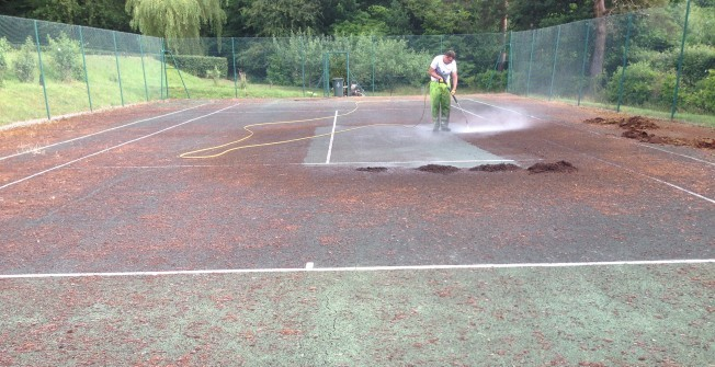 Sports Court Maintenance in Abbotstone