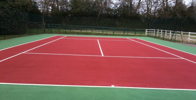Sports Court Surfacing in Apperknowle
